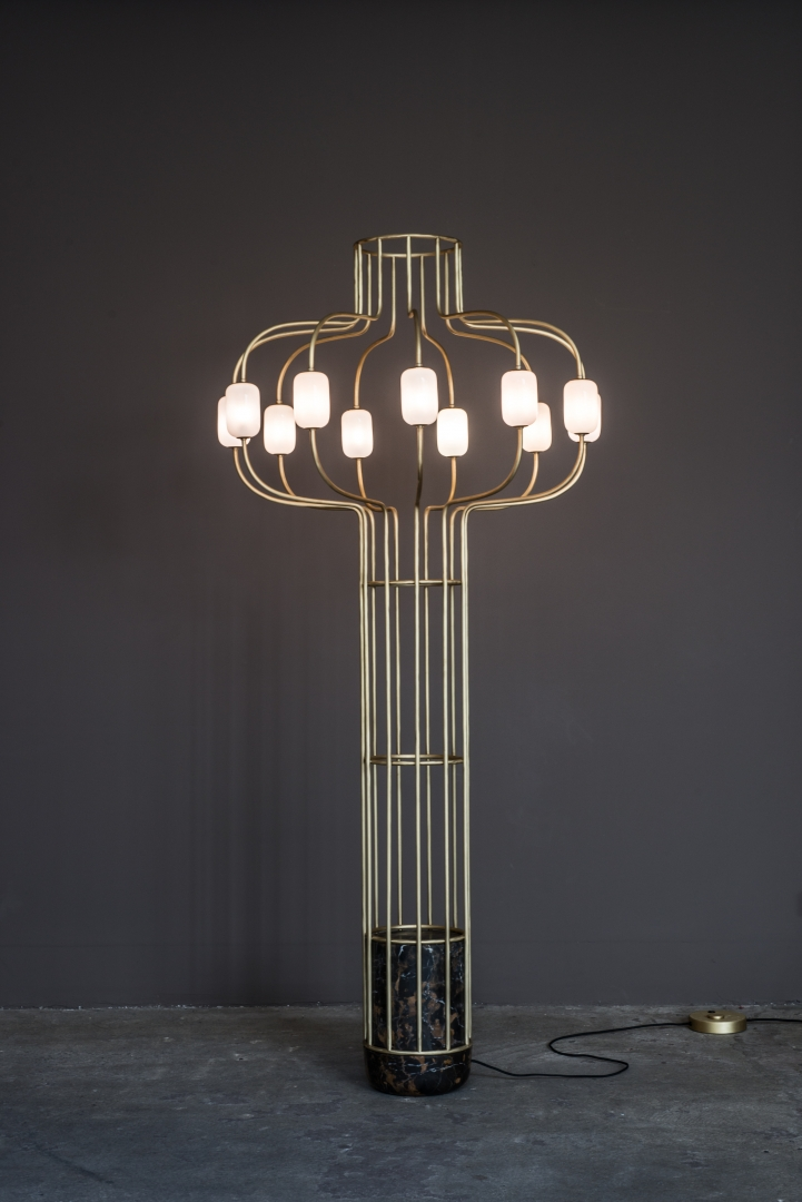Chandelier floor lamp work dan yeffet design studio chandelier floor lamp on design dan yeffetcollection aloadofball Image collections