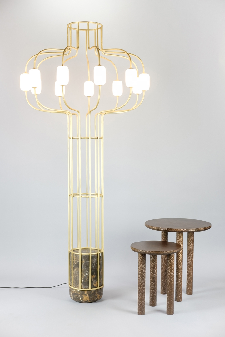 Chandelier floor lamp work dan yeffet design studio chandelier 05floor lamp on design dan yeffetcollection aloadofball Image collections